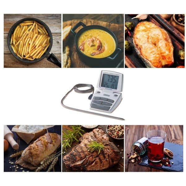 TFA 14.1500 termometr kuchenny elektroniczny z sondą szpilkową do piekarnika