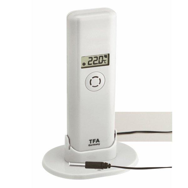 TFA 30.3302 czujnik temperatury i wilgotności bezprzewodowy z wodoszczelna sondą PRO 110C do WeatherHub Smart Home
