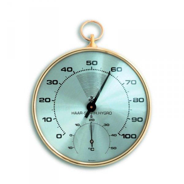 TFA 45.2007 termohigrometr tradycyjny czujnik temperatury i wilgotności mechaniczny włókna syntetyczne 102 mm