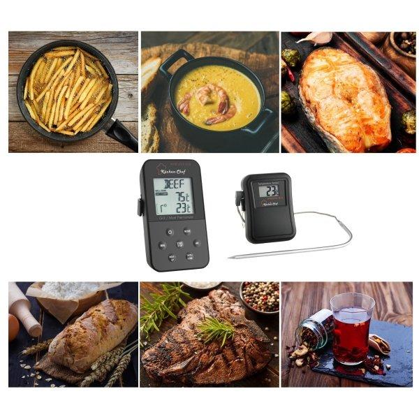 TFA 14.1504 KUCHEN CHEF termometr bezprzewodowy kuchenny szpilkowy do piekarnika