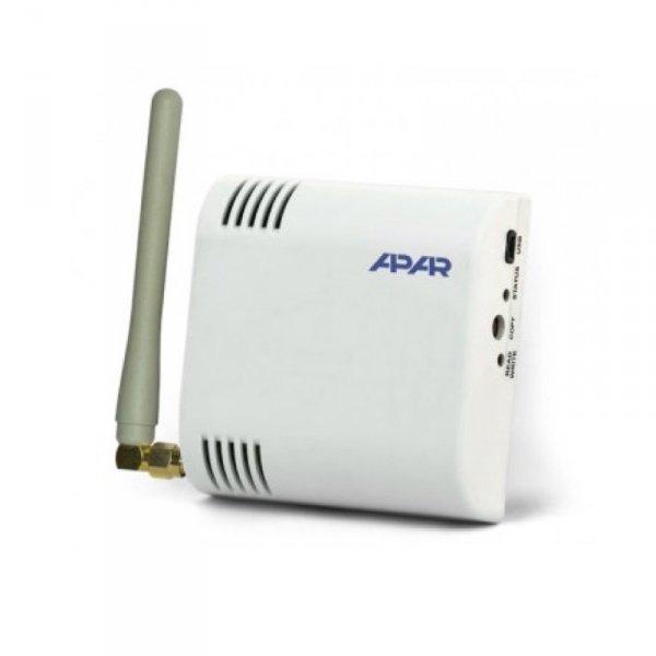 APAR AR431 czujnik temperatury bezprzewodowy przemysłowy termometr wewnętrzny naścienny radiowy
