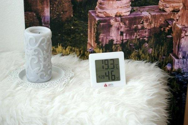 Termohigrometr domowy Airbi DIGIT monitor klimatu pomieszczeń elektroniczny wewnętrzny