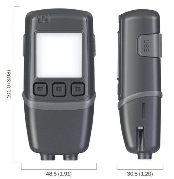 Corintech GFX-DTP rejestrator temperatury dwukanałowy data logger USB termometr sonda termistor