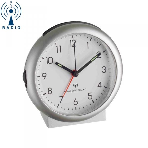 TFA 98.1036 budzik biurkowy zegar wskazówkowy sterowany radiowo