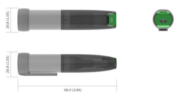 Corintech USB-E rejestrator impulsów, zdarzeń data logger USB