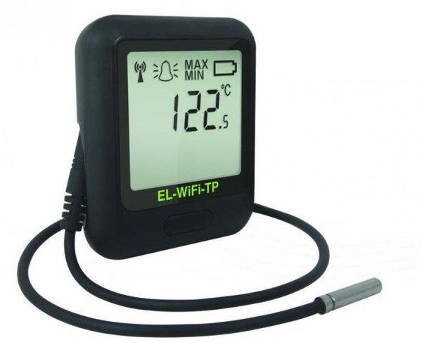 Rejestrator temperatury internetowy Corintech EL-WiFi-TP data logger WiFi, IP, Ethernet z sondą termistorową