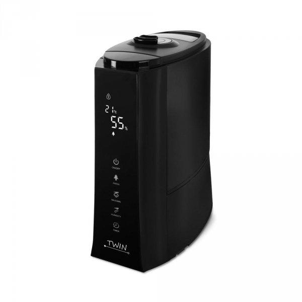 Airbi TWIN Nawilżacz powietrza ultradźwiękowy, jonizator, aromadyfuzer, czarny