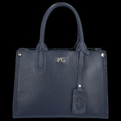 Kuferek Skórzany firmy VITTORIA GOTTI Made in Italy V554050 Granat