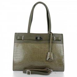 Klasyczna torebka damska David Jones Khaki