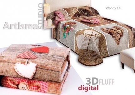 Koc 3D 155x220 cm Woody 14