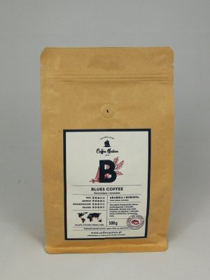 BLUES COFFEE  500g Arabika+Robusta