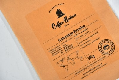 COLOMBIA EXCELSO 500g - 100% Arabika