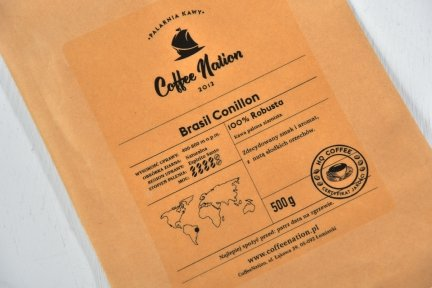 BRASIL CONILLON  1000g -100% Robusta