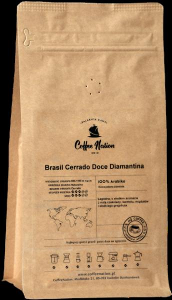 Brasil Cerrado Doce Diamantina 250g - 100% Arabika