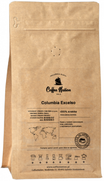 COLOMBIA EXCELSO 250g - 100% Arabika
