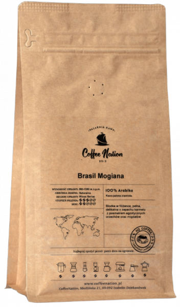 BRASIL MOGIANA 250g - 100% Arabika