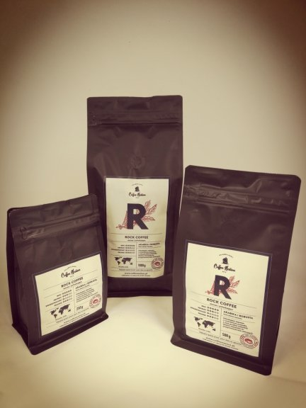 ROCK COFFEE - Arabika+Robusta