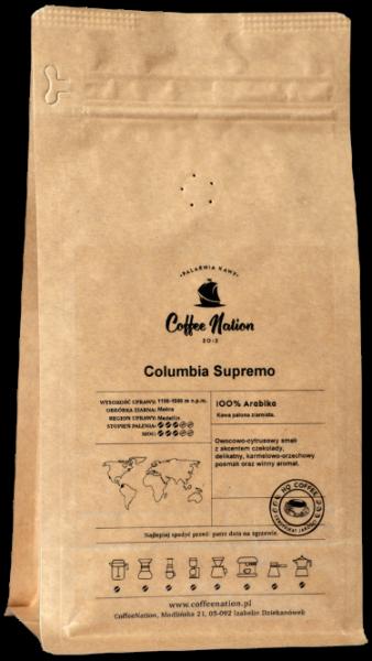COLOMBIA SUPREMO 1000g - 100% Arabika