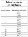 ANIMAL DESIGN Derka FLASH pomarańczowo-grafitowa rozmiar 01 21cm