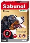 DermaPharm Sabunol GPI Obroża przeciw pchłom dla psa szara 75cm
