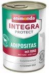 Animonda Integra Protect Adipositas dla psa wołowina puszka 400g
