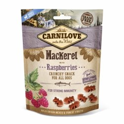 Carnilove Crunchy Snack Mackerel Raspberries 200g