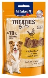 Vitakraft Dog Treaties Bits - Smaczne Kawałki - kurczak 120g