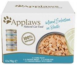 Applaws puszki dla kota Multipak Supreme 12x70g