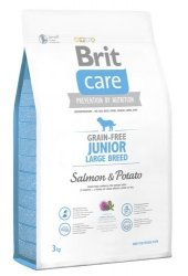 Brit Care Junior Large Salmon & Potato 3kg