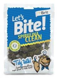 Brit Care Let's Bite Dog Spirulina Clean 150g