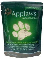Applaws saszetka dla kota Kurczak i Szparagi 70g