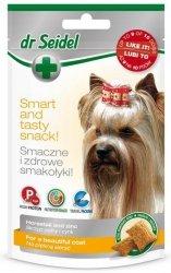 Dr Seidel Smakołyki dla psów na piękną sierść 90g