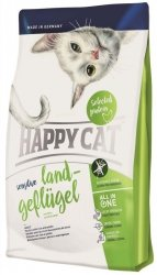 Happy Cat Sensitive Land-Geflügel Kurczak organiczny 1,4kg