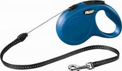 Flexi New Classic Smycz linkowa S 5m niebieska