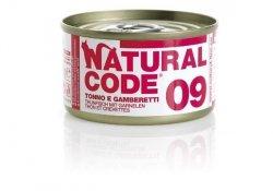 Natural Code Cat 09 Tuna and shripms 85g
