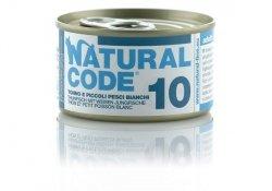 Natural Code Cat 10 Tuna and whitebait 85g