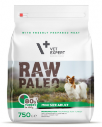 Raw Paleo Mini Size Adult Turkey 750g