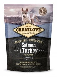 Carnilove Salmon & Turkey Puppies 1,5kg