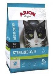 ARION ORIGINAL CAT Sterilised chicken 7,5kg