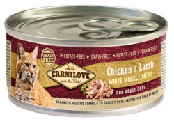 Carnilove Adult Cat Chicken & Lamb puszka 100g