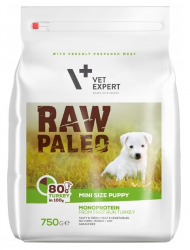 Raw Paleo Mini Size Puppy Turkey 750g