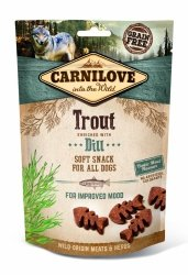 Carnilove Semi-Moist Snack Trout Enriched With Dill 200g