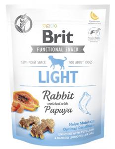 Brit Care Functional Snack Light 150g królik