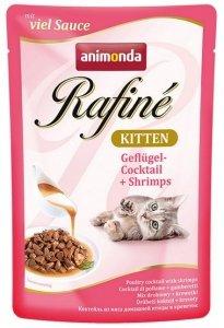 Animonda Rafiné Soupé Kitten Koktail drobiowy + krewetki saszetka 100g