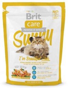 Brit Care Cat Sunny Beautiful Hair Salmon & Rice 400g