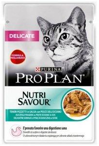 Purina Pro Plan Cat Delicate ryba oceaniczna saszetka 85g