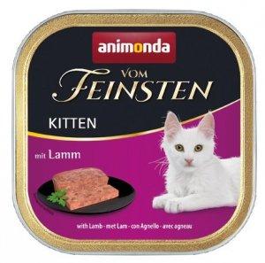 Animonda vom Feinsten Kitten z Jagnięciną tacka 100g
