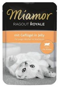 Miamor Ragout Royale Kitten z Drobiem w galaretce saszetka 100g