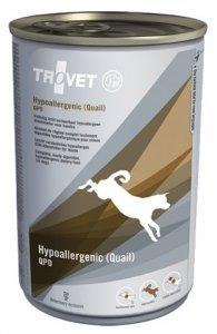 Trovet QPD Hypoallergenic Przepiórka dla psa puszka 400g