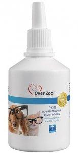 Over Zoo Płyn do przemywania oczu  powiek dla kota i psa 60ml
